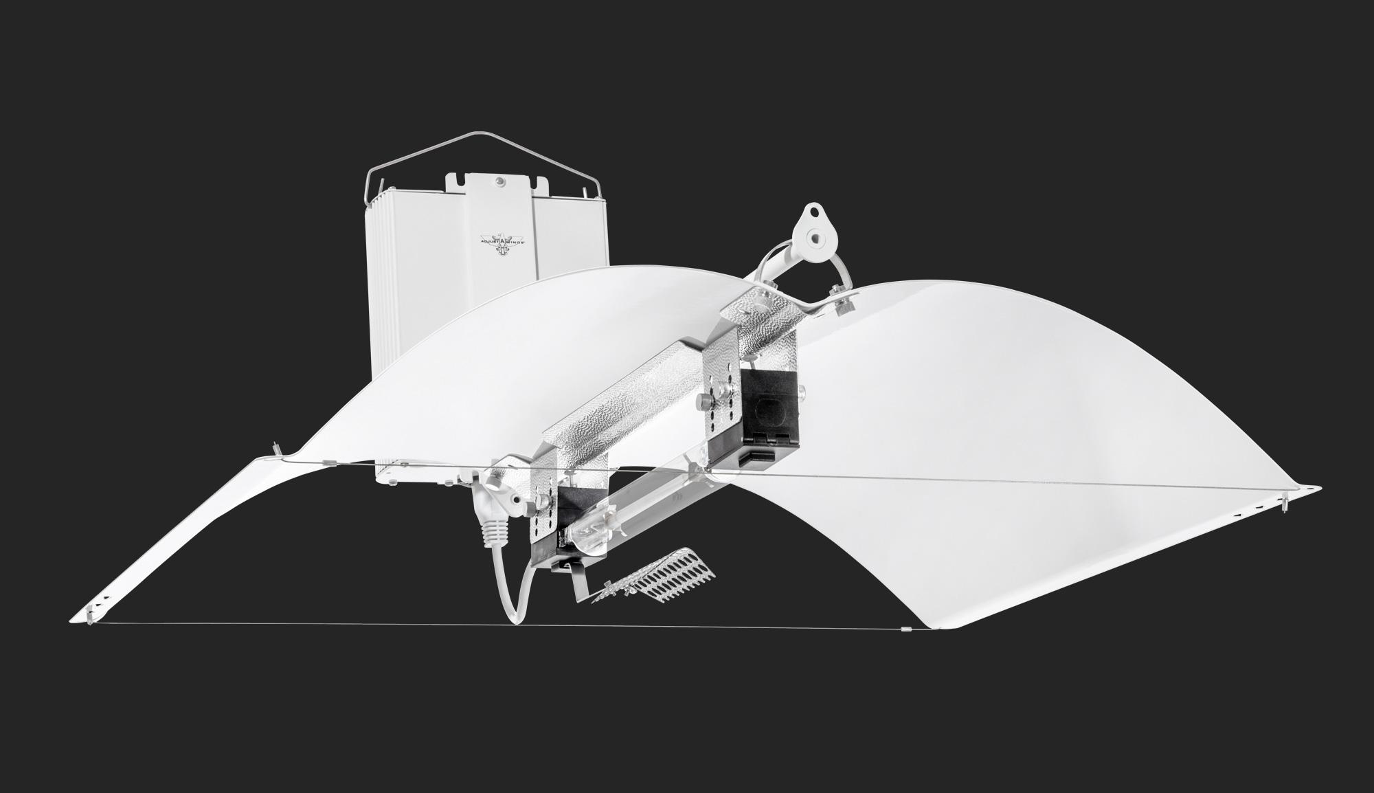 750w DE Hellion Lighting System - Adjust-A-Wings