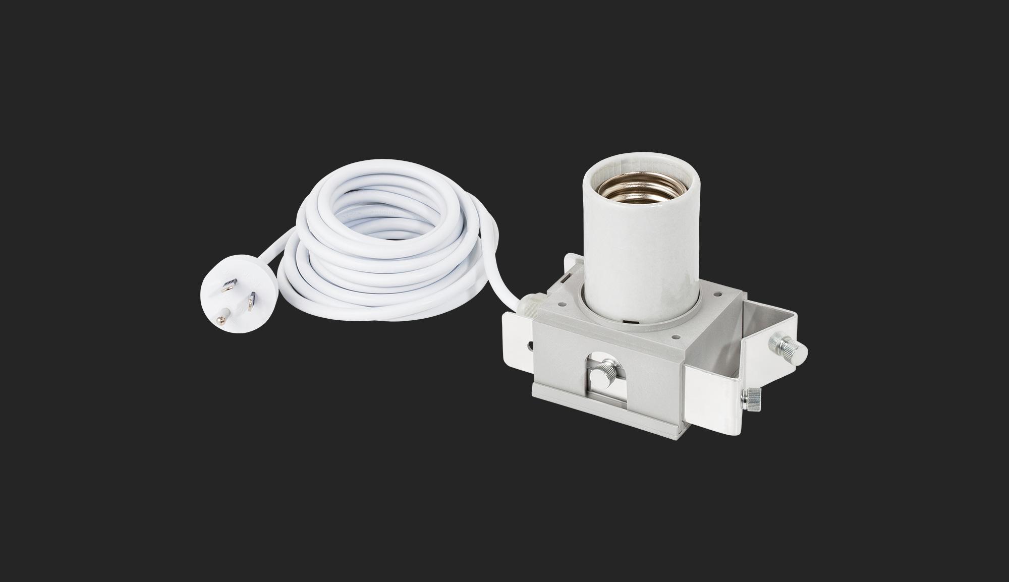 E40 Lamp Holder Australia - Adjust-A-Wings