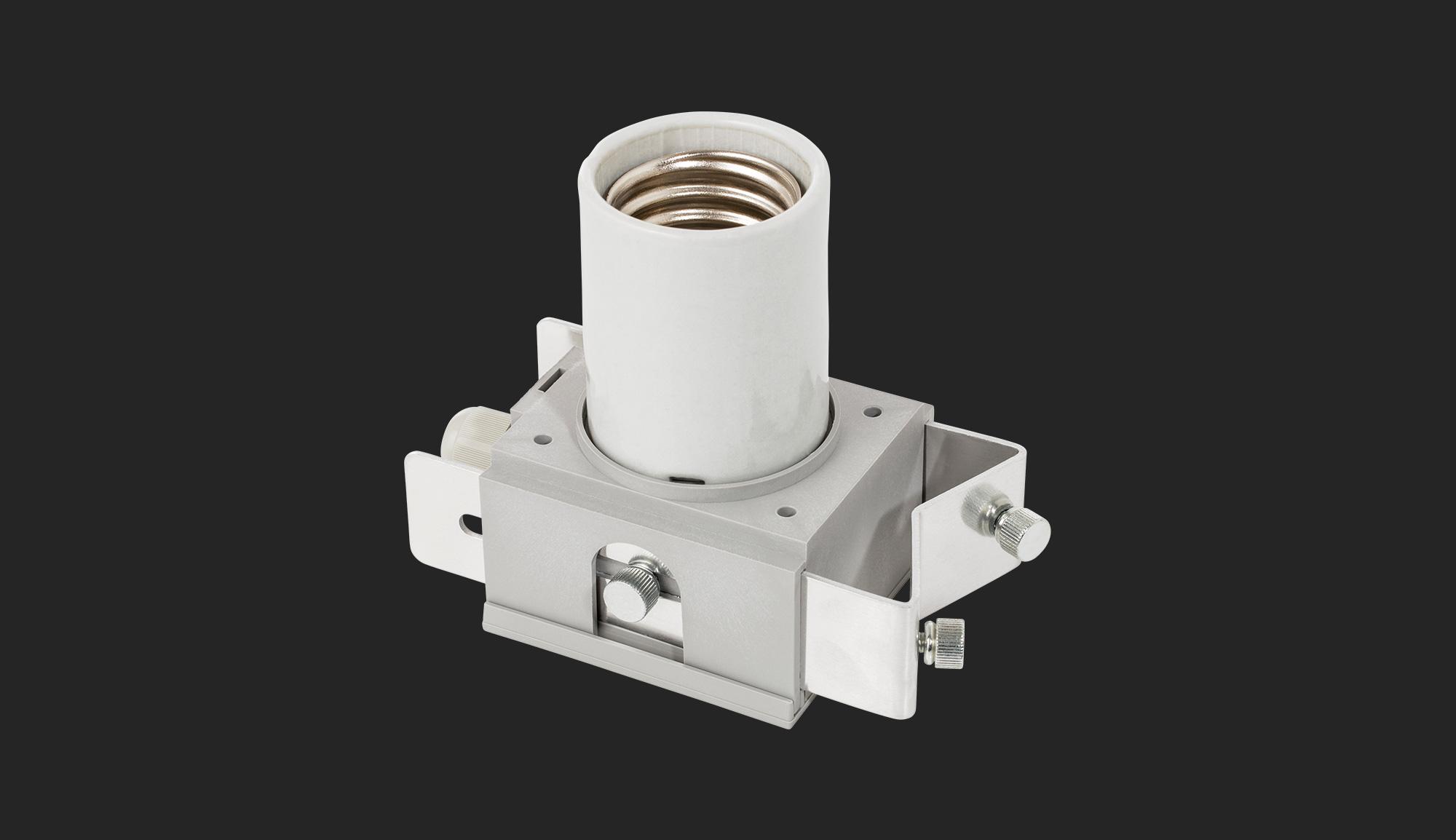 E40 Lamp Holder - Adjust-A-Wings
