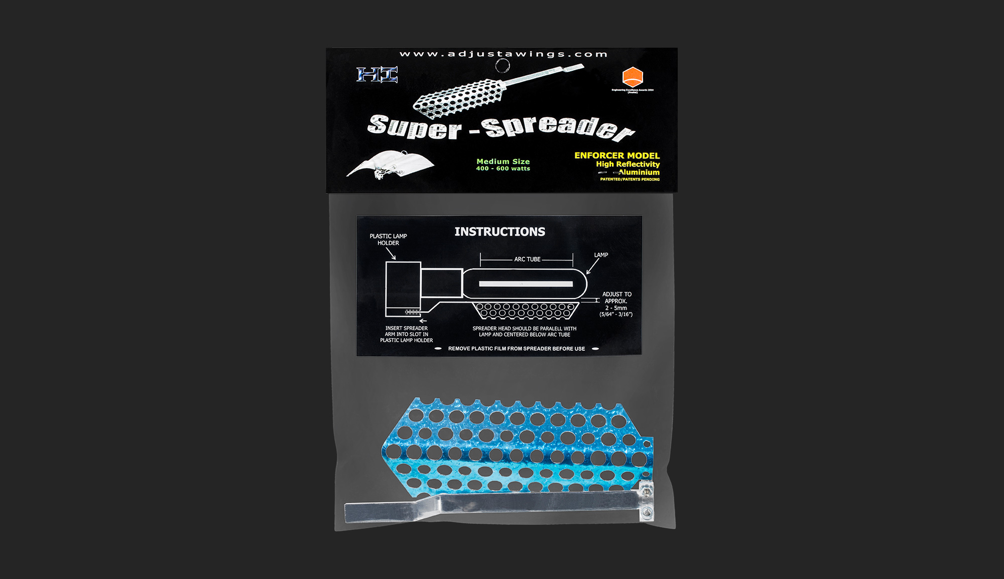 Enforcer Medium Super Spreader - Adjust-A-Wings